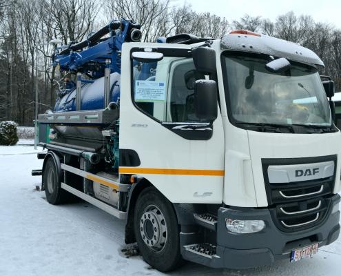 Nowy pojazd typu WUKO w Gminie Chybie